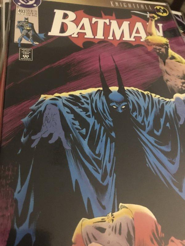 DC Batman KnightFall #493 Mint