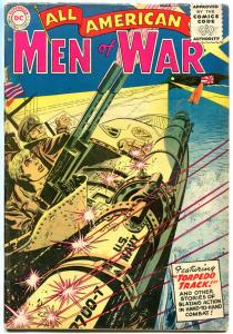 ALL AMERICAN MEN of WAR #19, VG-, 1952, Golden Age, Torpedo Attack