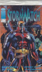 StormWatch #0 (with card) VF/NM; Image | save on shipping - details inside