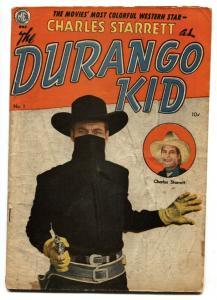 DURANGO KID #1-1949-ME-FRANK FRAZETTA-DAN BRAND-CHARLES STARRETT