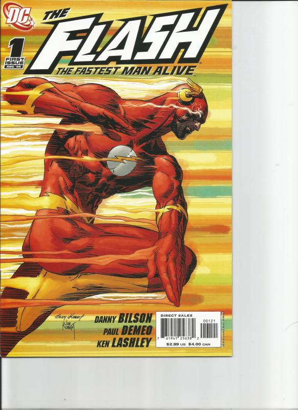 The Flash #1 and #1B 2006