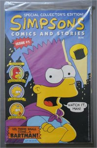 Simpsons Comics and Stories  #1  Bagged & Sealed   VF/Better Actual Pictures