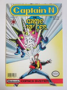 Captain N- The Game Master (Valiant 1990) #3 1st Joe Quesada signed by him