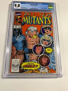 New Mutants 87 Cgc 9.8 White Pages Marvel Copper Age