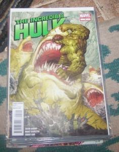 Incredible Hulk # 2 2012 marvel  bruce banner