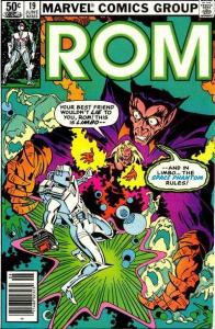 Rom (1979 series) #19, VF+ (Stock photo)