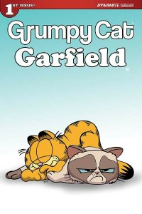 GRUMPY CAT GARFIELD #1 SET OF 3 VARIANT COVERS INCLUDING BLANK VARIANT NM.