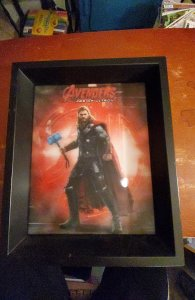 Marvel Avengers age of ultron thor framed wall art