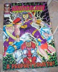youngblood #2 image + 1st shadowhawk prophet  jim valentino