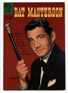 Bat Masterson #5 1960-Dell-Gene Barry TV photo-VF+