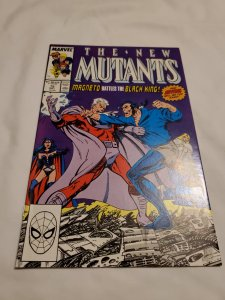 New Mutants 75 Very Fine+ Cover art by John Byrne