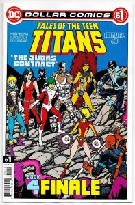 Tales Of The Teen Titans Annual #3 Dollar Comics Edition (DC, 2020) NM