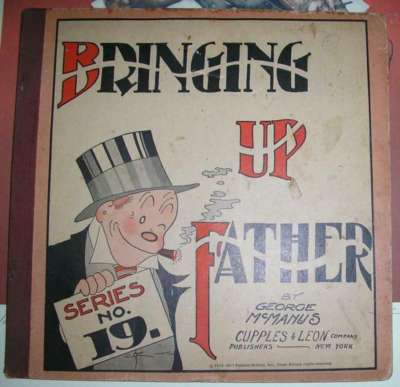 BRINGING UP FATHER  (1919-1934 C&L) SERIES 1 VERY GOOD
