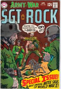 Our Army at War #205 (Apr-69) VF+ High-Grade Easy Company, Sgt. Rock