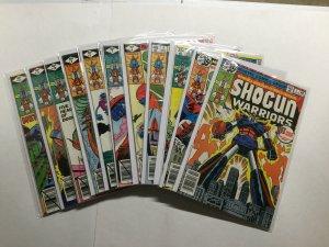 Shogun Warriors 1-4 1 2 3 4 6-12 6 7 8 9 10 11 12 Lot Run Near Mint Nm Marvel