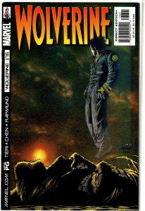 Wolverine (vol. 2, 1988) #176 FN/VF (Logan Files ep.) Tieri/Chen/Rapmund