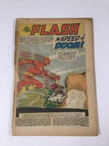 Flash 108 Coverles Tape On 1st Wrap Dc Comics Silver Age