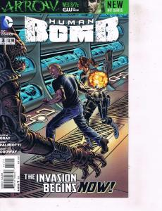 Lot Of 2 Comic Books DC Human Bomb #3 and #4 Batman Superman   MS12