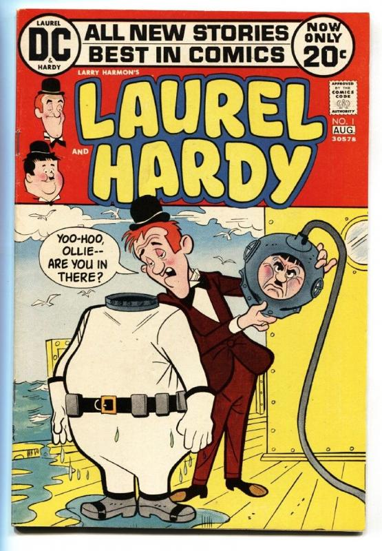 Laurel and Hardy #1 comic book 1972-DC-1st issue fn