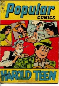 Popular #145 1948-Dell-Harold Teen-lingerie panels-VG