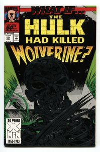 What If #50 - 1993 Death of Wolverine Marvel comic book