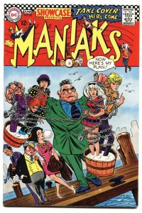 SHOWCASE #68 1967-DC-Maniaks-Esposito cvr VF-
