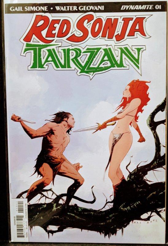 Red Sonja/Tarzan #1 (2019)