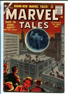 MARVEL TALES #152 1956-ATLAS-WALLY WOOD-JOE MANEELY-MOLE MEN-vg