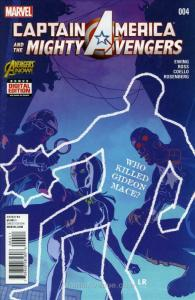Captain America & The Mighty Avengers #4 VF/NM; Marvel | save on shipping - deta