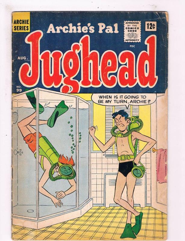 Jughead 99 Vg Archie Comics Comic Book 1st Series Bett Veronica