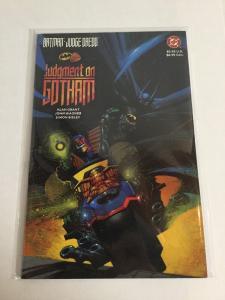 Batman Judge Dredd  Judgment On Gotham 1 Nm Near Mint One-Shot