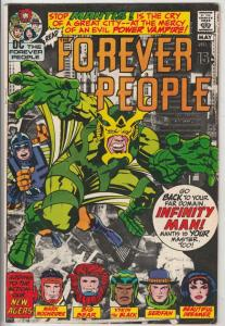 Forever People #2 (Apr-71) FN/VF Mid-High-Grade Big Bear, Beautiful Dreamer, ...