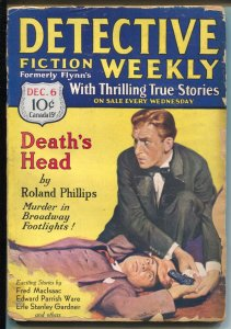 Detective Fiction Weekly 12/6/1930-Red Star-Erle Stanley Gardner-G