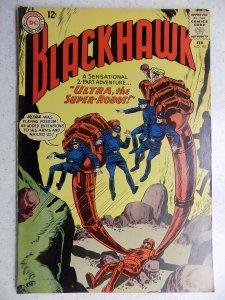 BLACKHAWK # 181 DC BOTTOM STAPLE POPPED