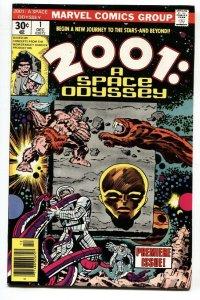 2001 #1-comic book-JACK KIRBY ART-1977-MARVEL nm-