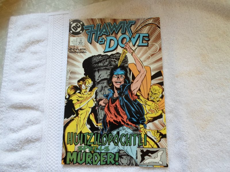 DC COMICS HAWK & DOVE # 2 ( 1989 )