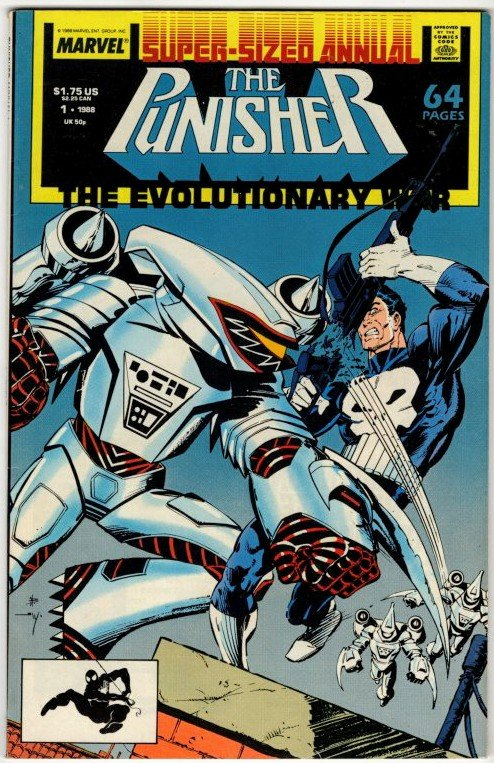PUNISHER Annual #8 (8.5-9.0) No Resv! 1¢ Auction! See More!!!