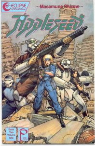 Appleseed Book 2 #1 VF; Eclipse | save on shipping - details inside
