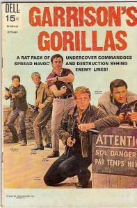Garrison's Gorillas #5 (Oct-69) FN/VF Mid-High-Grade Garrison's Gorillas