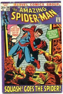 AMAZING SPIDER-MAN #106 comic book-Bronze Age-Peter Parker VG/F