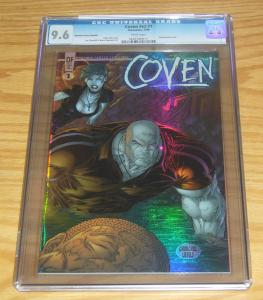 the Coven vol. 2 #1 CGC 9.6 dynamic forces holofoil variant w/COA (#3288/5000)