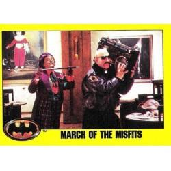 1989 Batman The Movie Series 2 Topps MARCH OF THE MISFITS #146