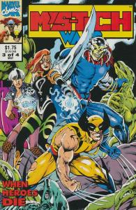 Mys-Tech Wars #3 VF/NM; Marvel UK   save on shipping - details inside