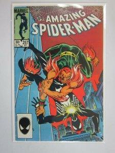 Amazing Spider-Man #257 Direct edition 4.0 VG (1984 1st Series)