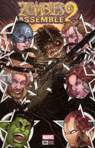 Marvel ZOMBIES ASSEMBLE 2 #4, VF/NM, Hulk, Thor,  2017, Variant, more MZ in stor
