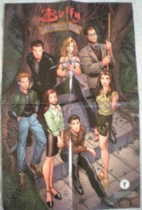 BUFFY the VAMIRE SLAYER Promo poster, 1998, Unused, more in our store