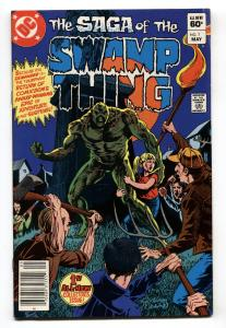 Saga of the SWAMP THING #1 Newsstand variant-DC comic book-1982