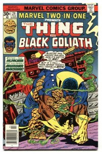 MARVEL TWO-IN-ONE #24 Thing-Black Goliath 1977 NM-