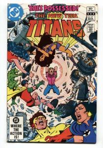 New Teen Titans #17 1985 1st appearance of FRANCES KANE (MAGENTA)
