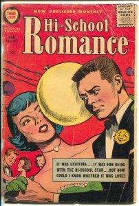 Hi-School Romance #60 1957- Harvey-Bob Powell art-beauty tips-complexion clues-G